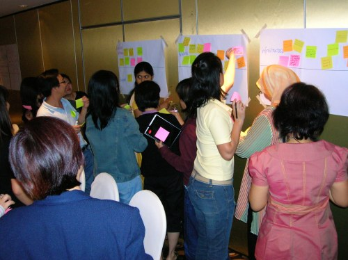 A training session on innovation