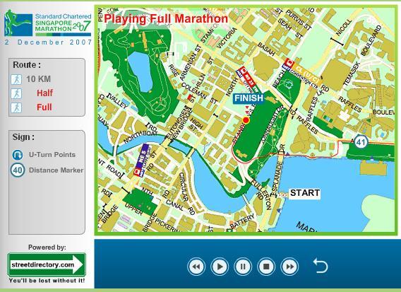 Singapore Marathon 2007
